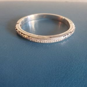 Brighton Silver Bracelet with Magnetic Closure